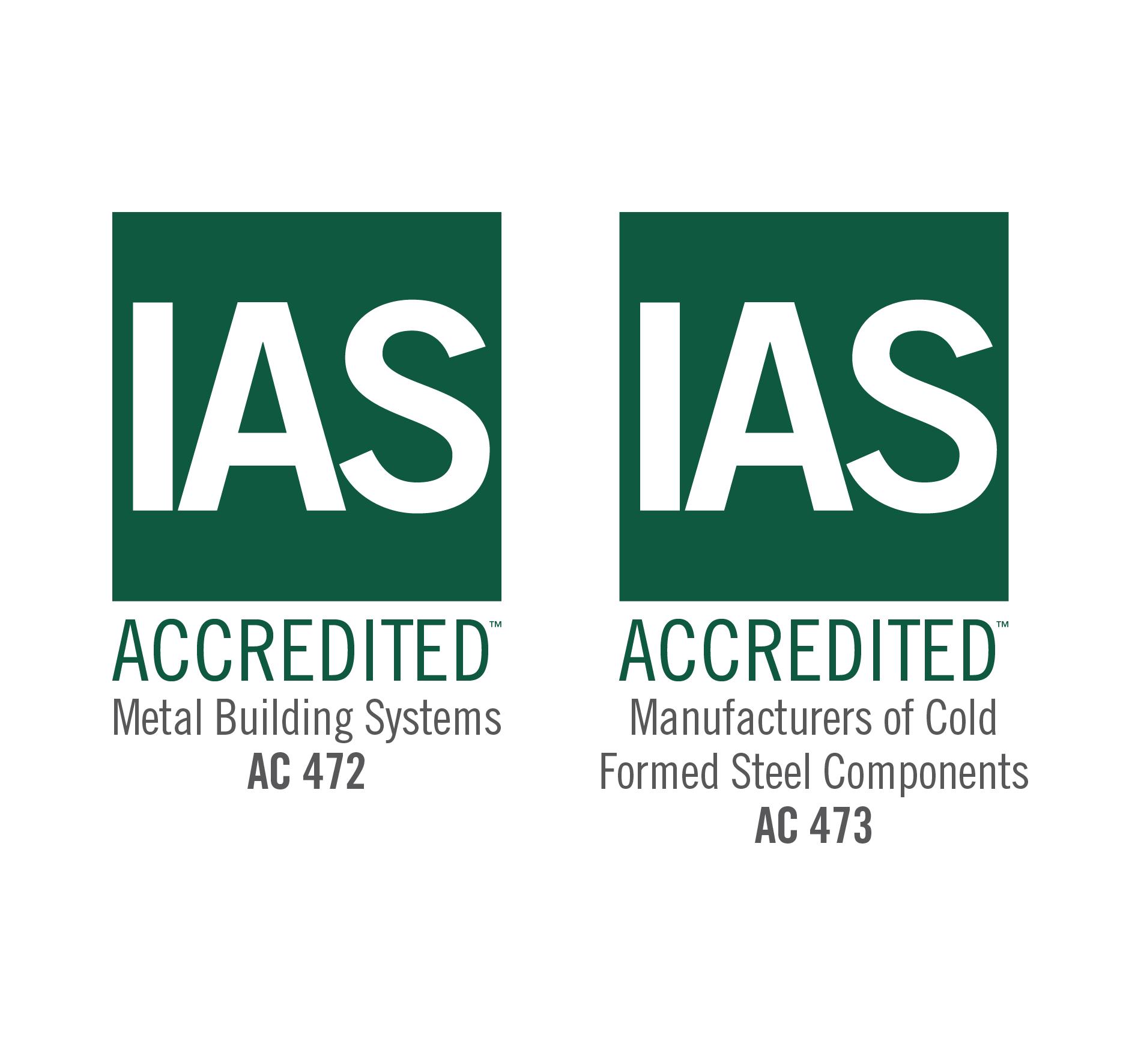 IAS: Metal Building Inspection Assembler Accreditation